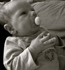 Harper Praying! : )